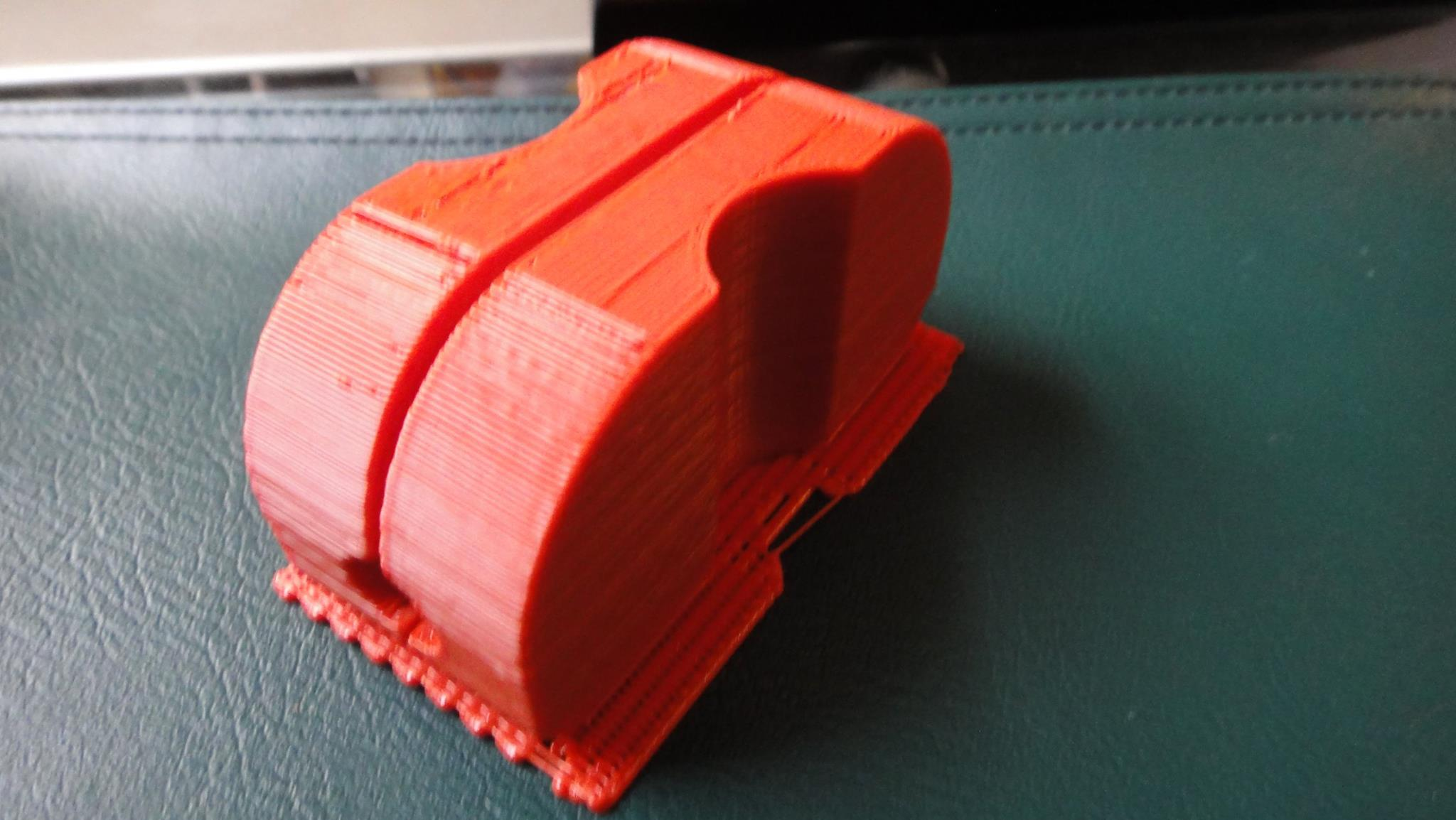 KLM Insulator 3D printed